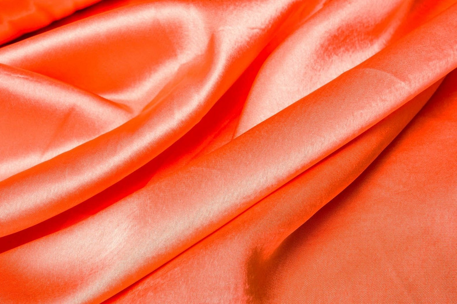 Ткань персиковая габардин