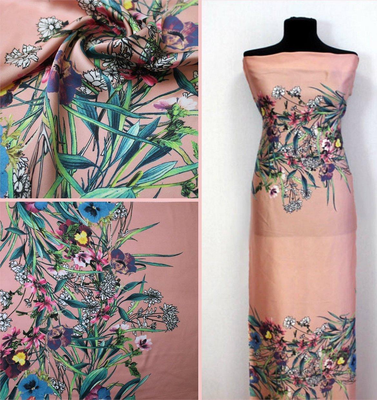 Платья с росписью по ткани батик