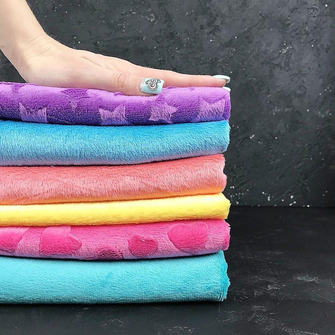 Полотенце цветные в ассортименте