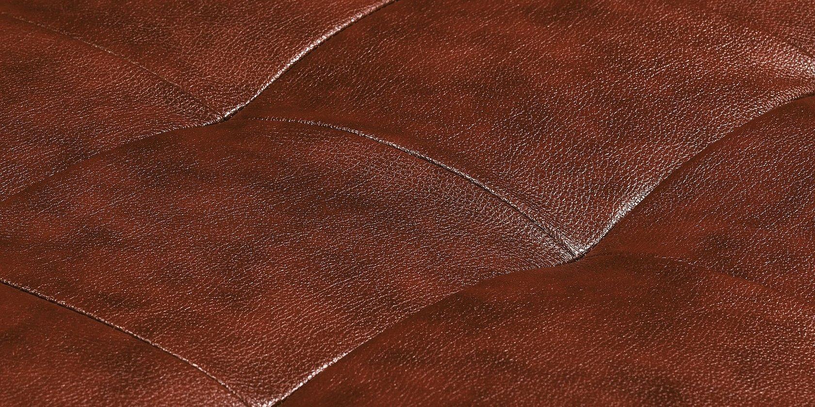 Натуральная кожа коричневая