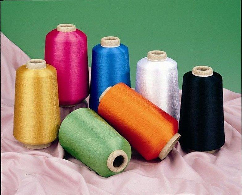 Нитки цветные мешкозашивочные мультифиламентные