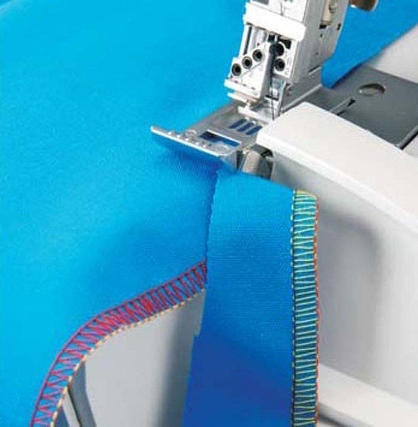 Окантовочная лапка для швейных машин