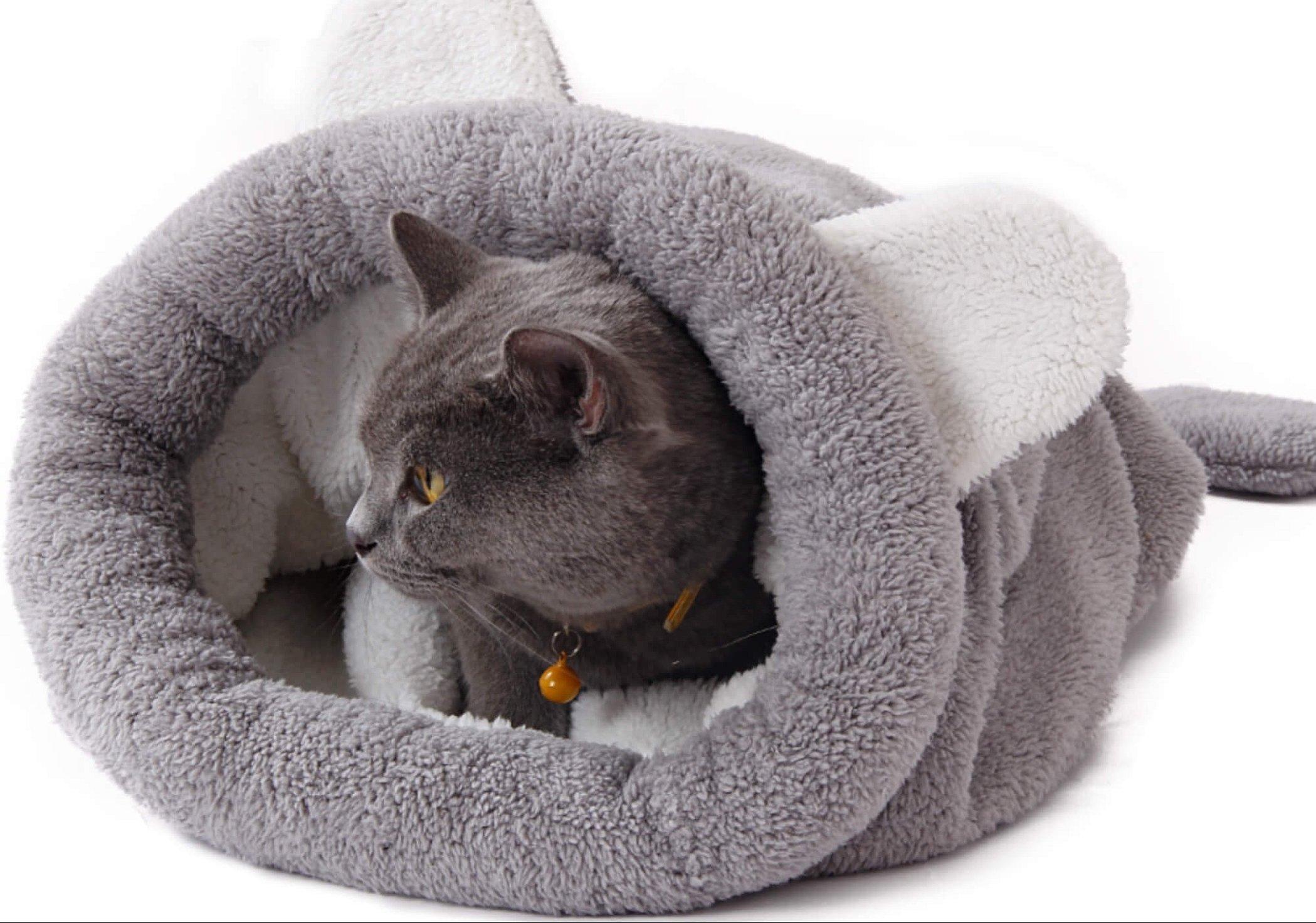 Лежанка мешок для кошки