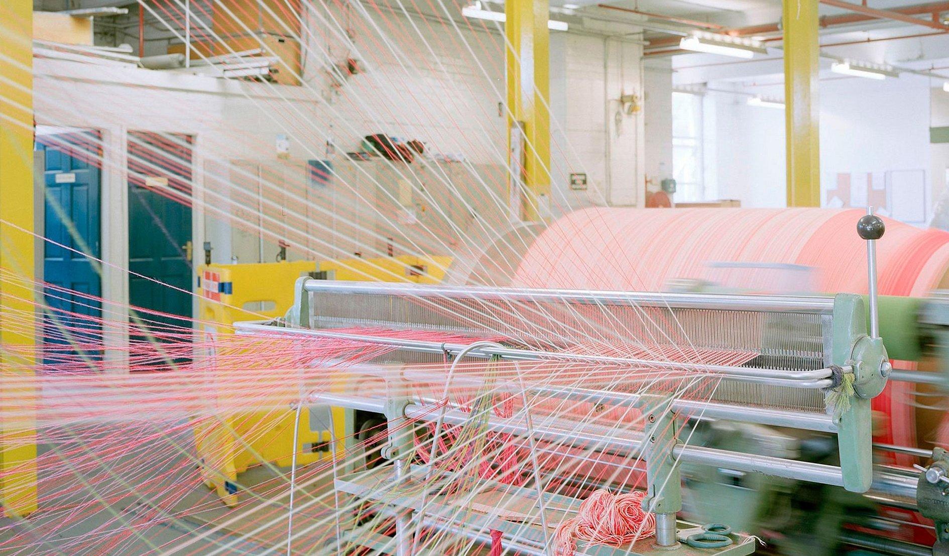 Текстильная промышленность нити полотно