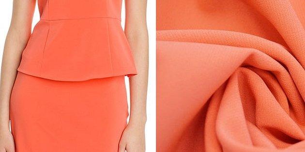 Karen millen платье коралловое