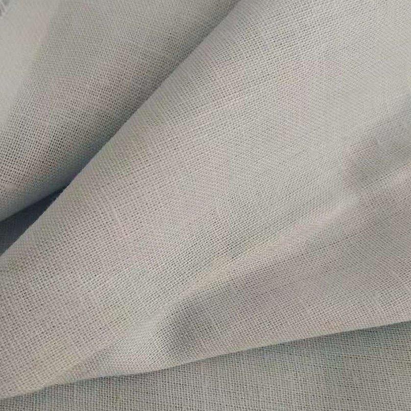 Лен белый ткань мягкий