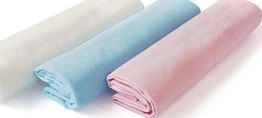 Ткань пеленка фланелевая однотонная