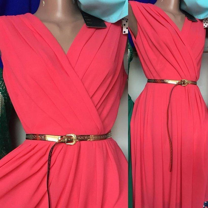 Креп-шифон платья