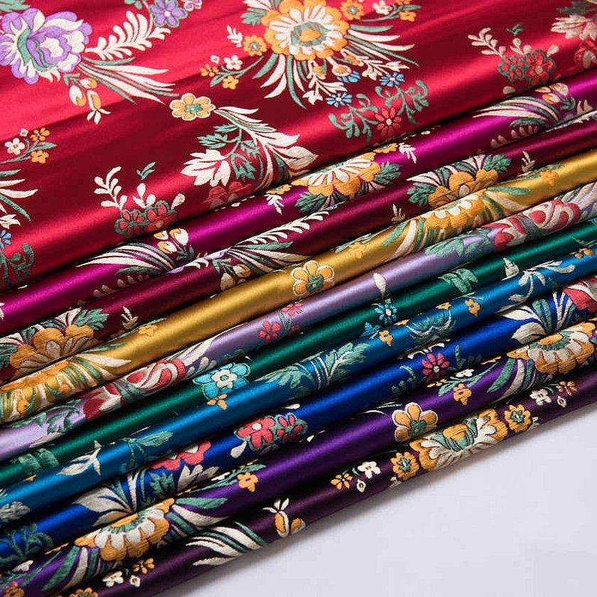 Китайские ткани из шёлка