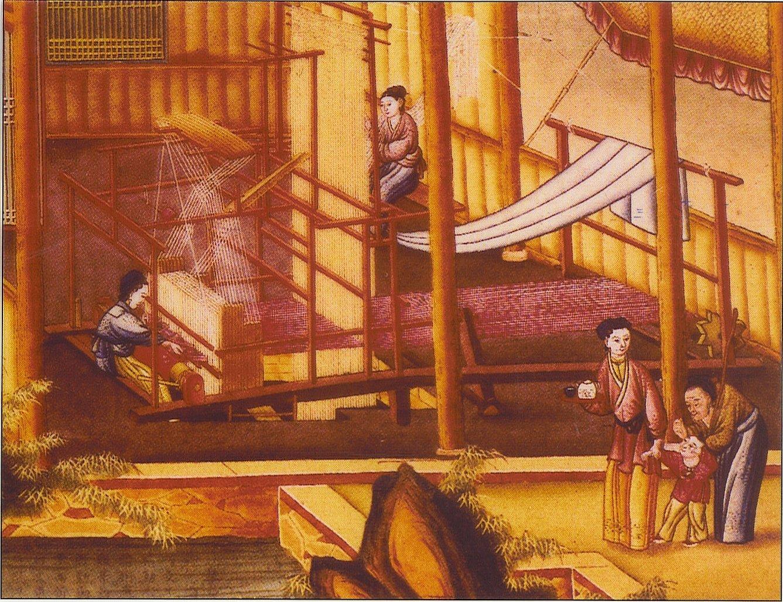 Производство шелка в китае в древности
