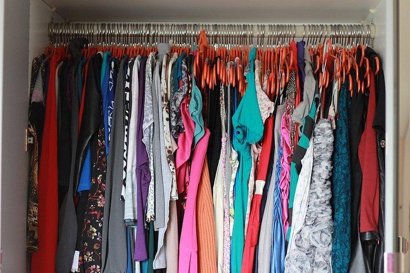 Мой шкаф с одеждой