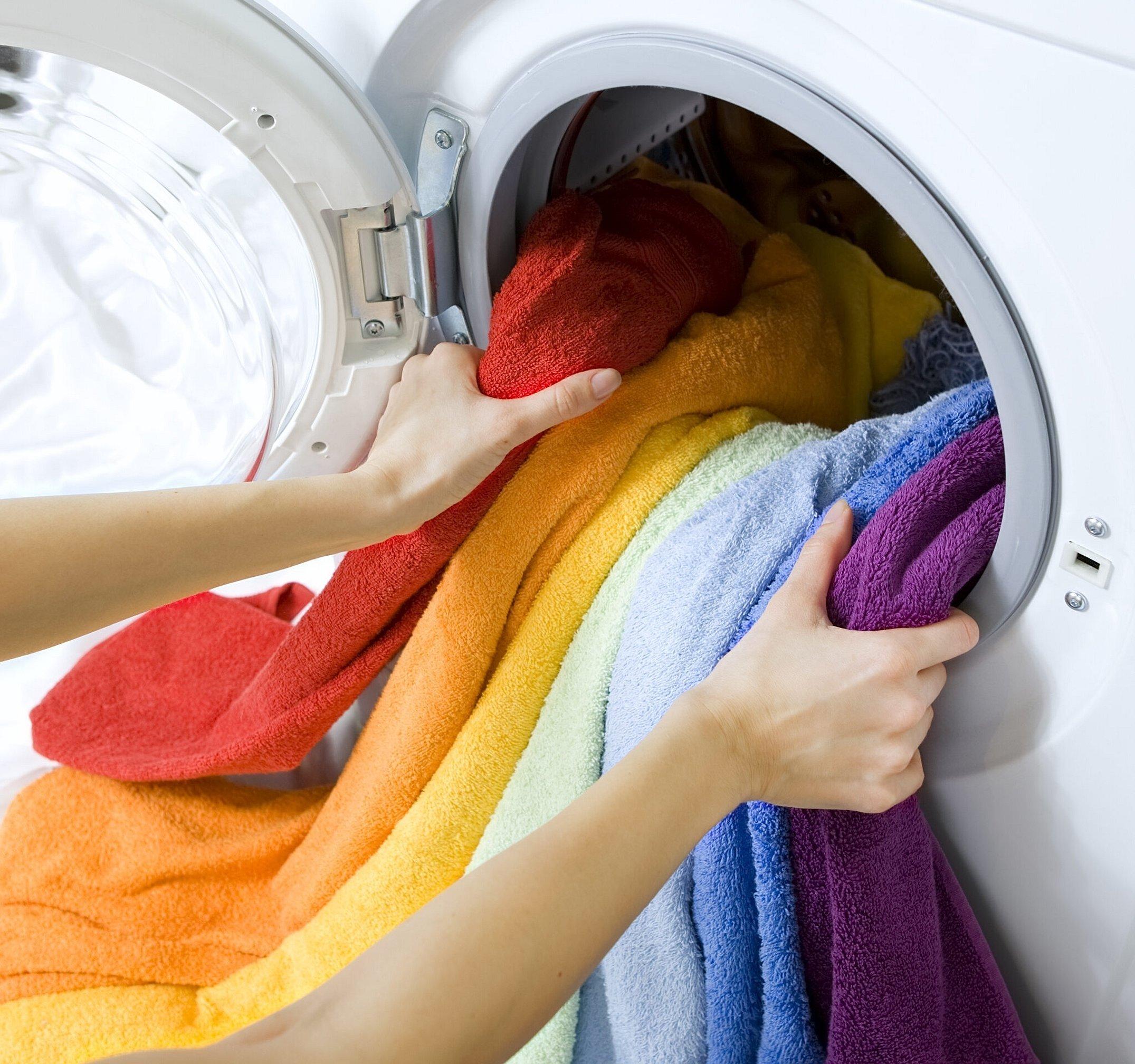 Профессиональная стиральная машина для стирки пледа