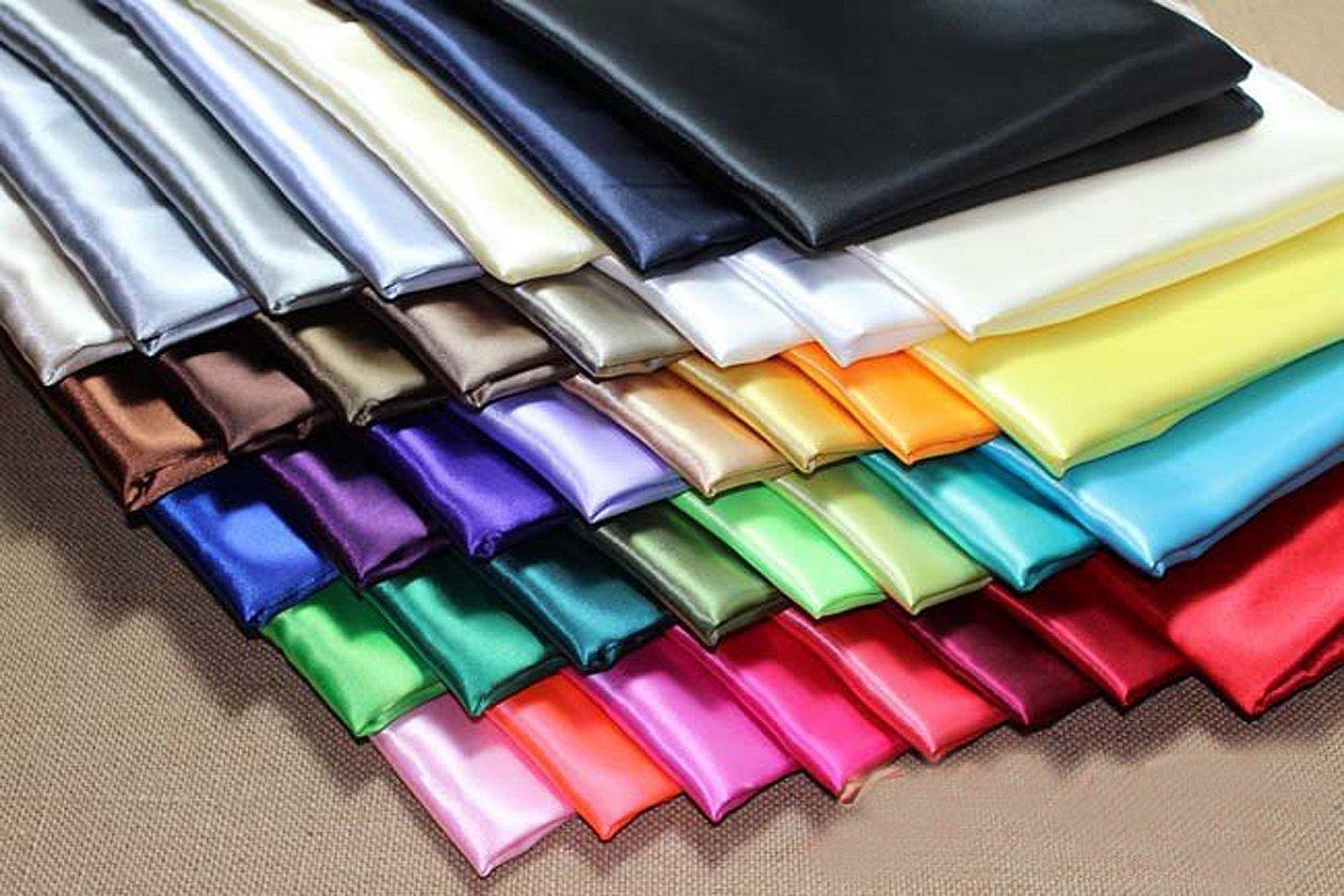 Атлас ткань цвета