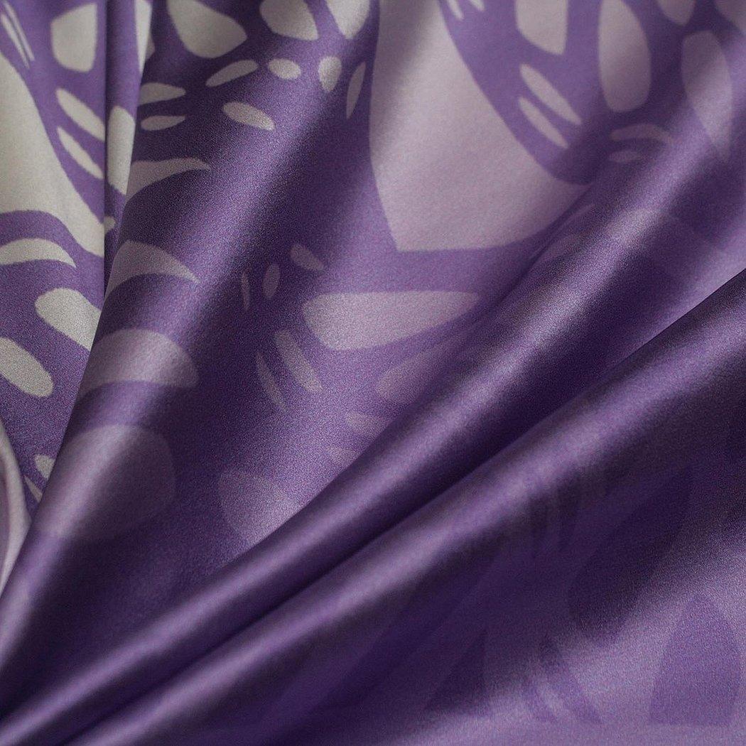 Ткань подкладка фиолетовая