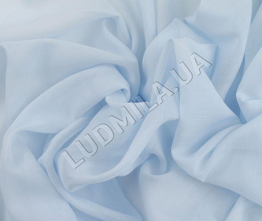 Синяя вуаль ткань прозрачная