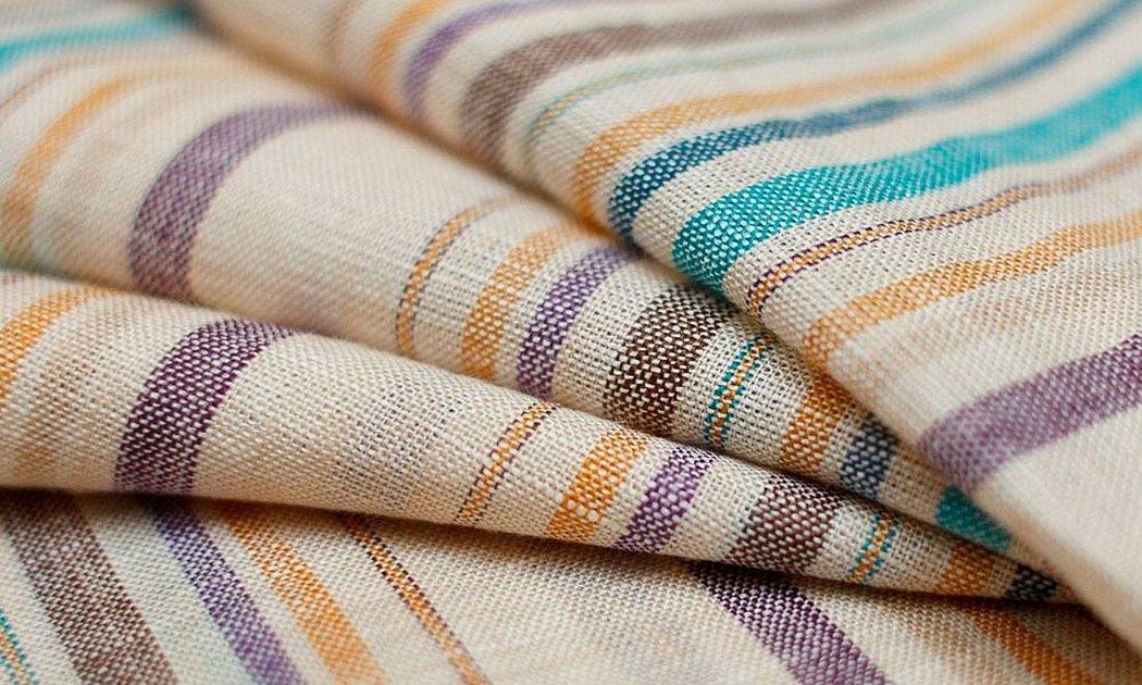 Ткань из льна