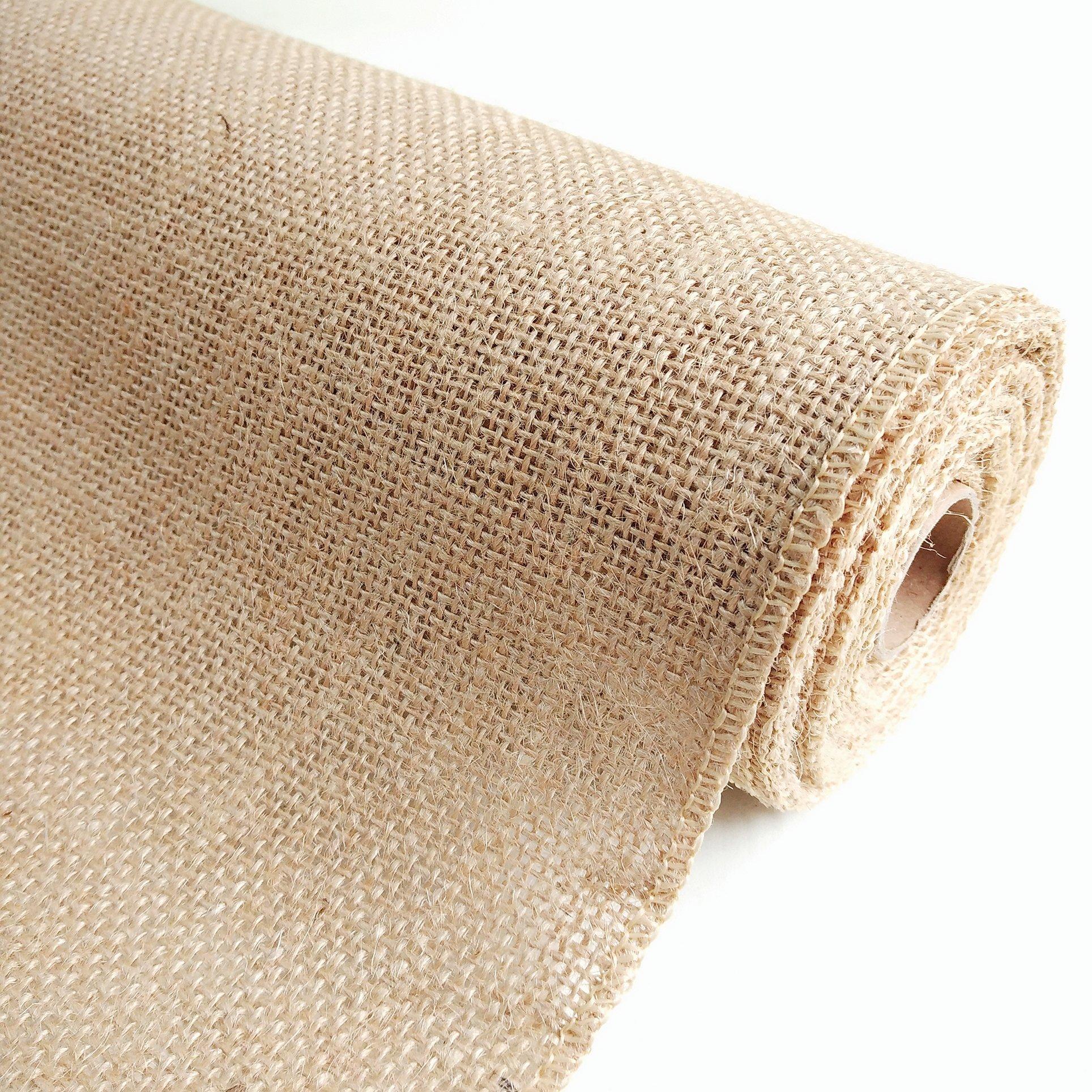 Ткань мешковина рулон лен