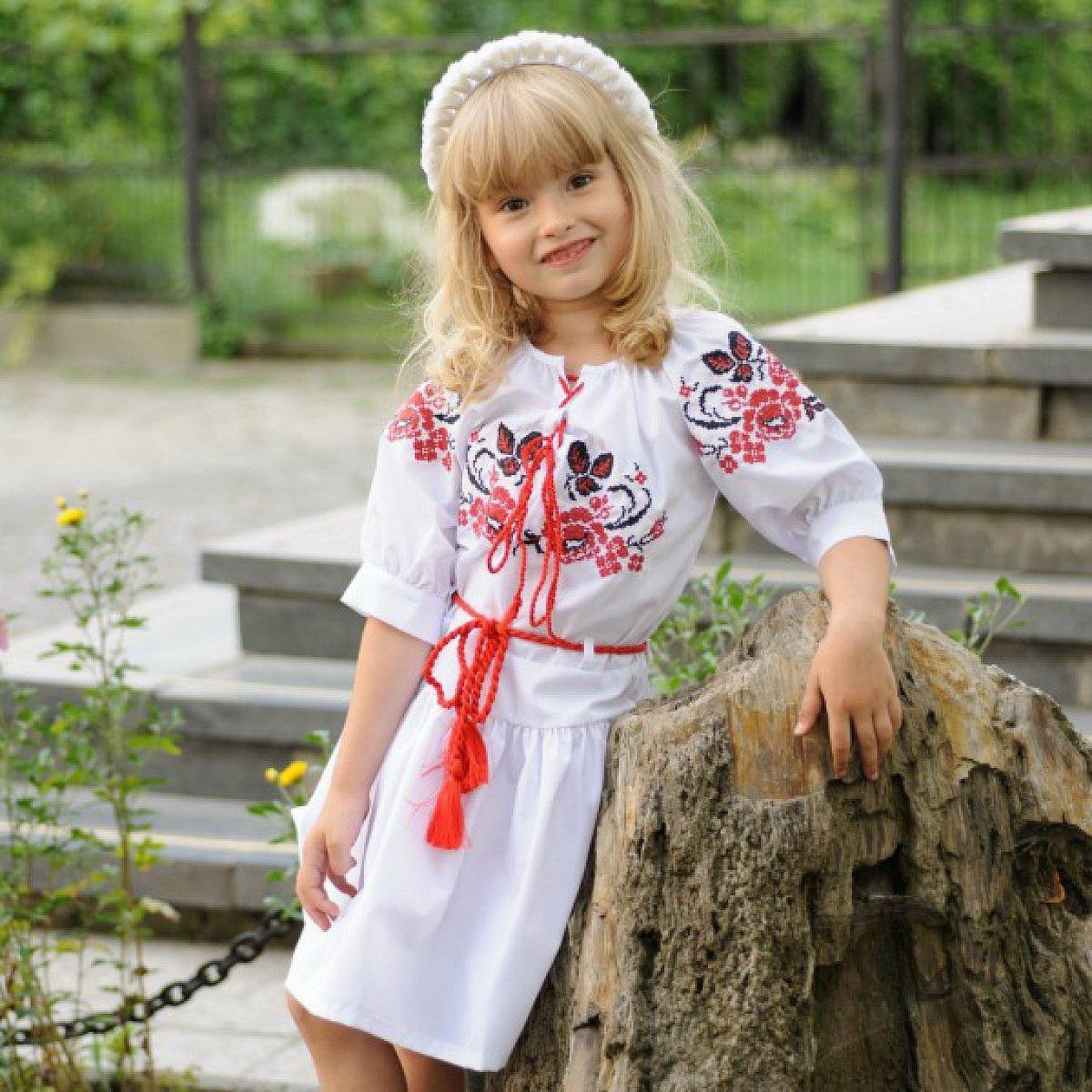 Русская вышиванка для ребенка