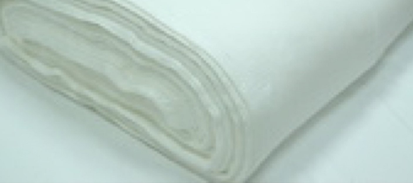 Полотно вафельное белое
