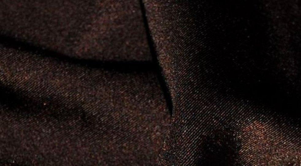 Коричневая шерстяная ткань
