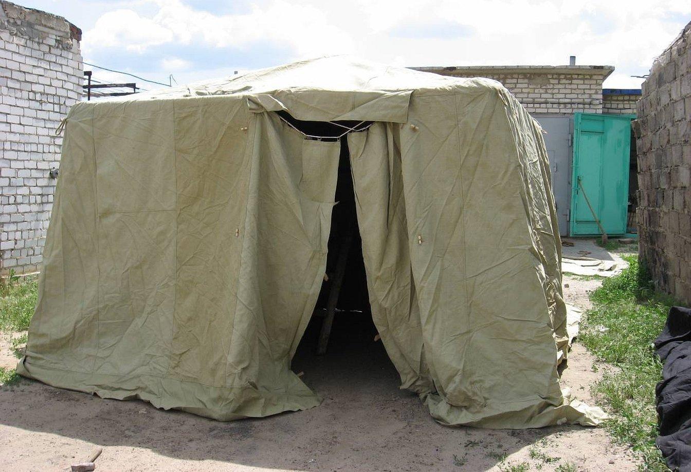 Военная палатка офицерская