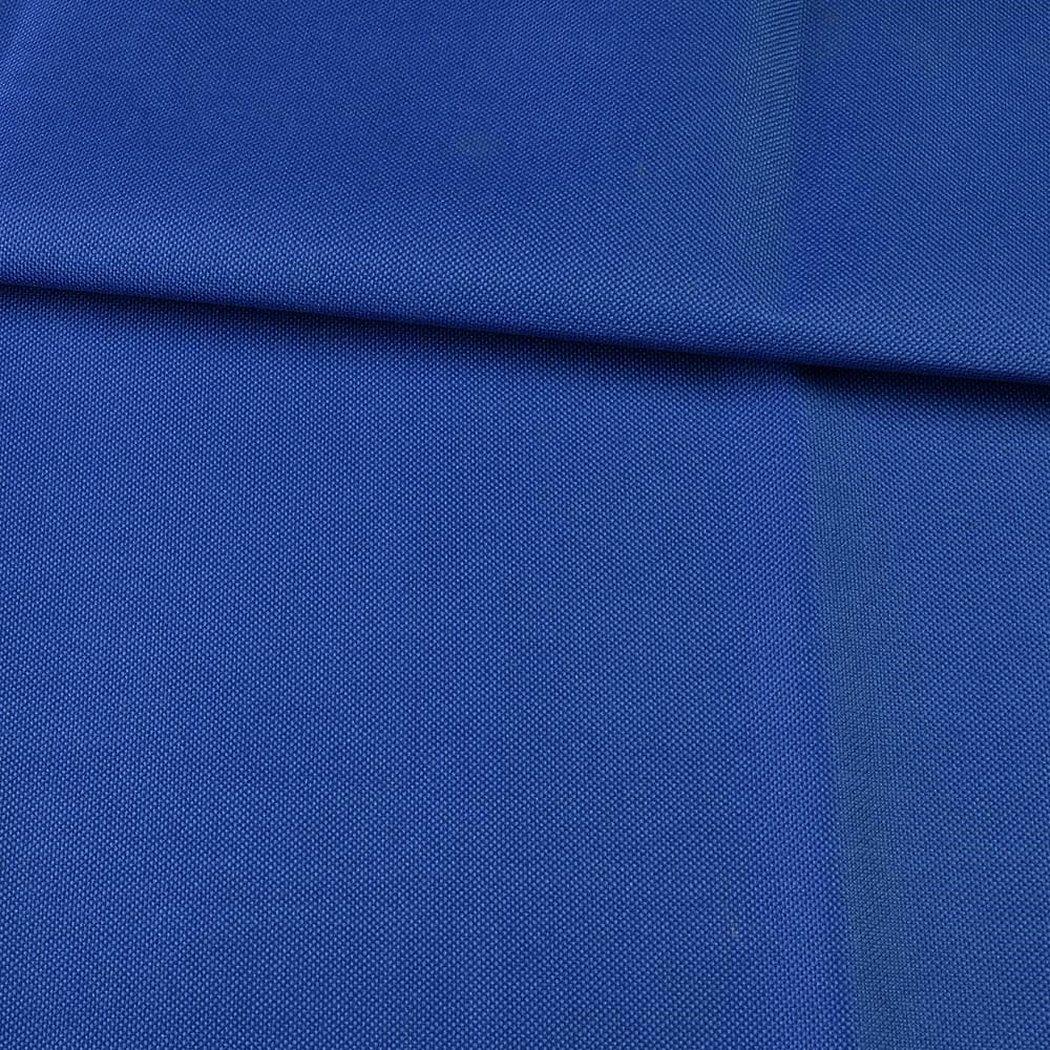 Костюмная ткань однотонная синяя