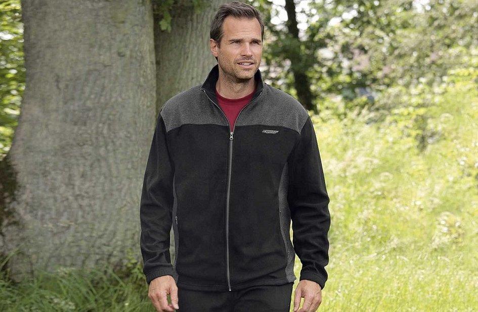 Atlas for men мужская флисовая куртка с подкладкой из шерпы
