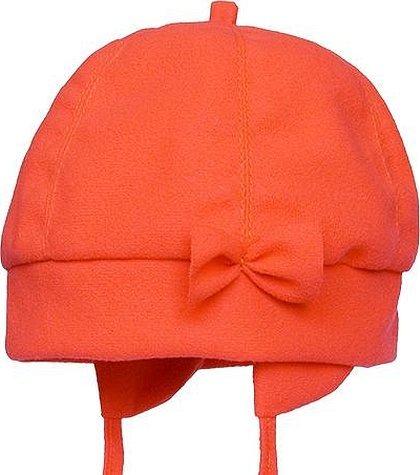 Шапка шапка оранжевая хлопок