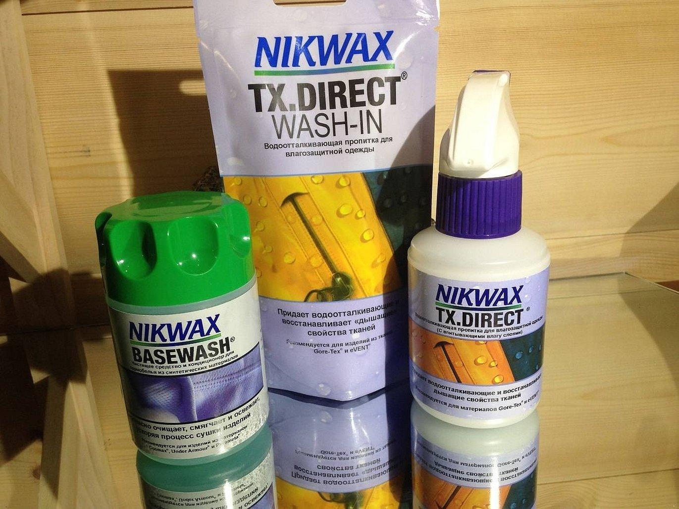 Средство nikwax для мембранных тканей