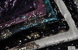 Ткань с пайетками (пайеточная): двухсторонняя, как называется материал