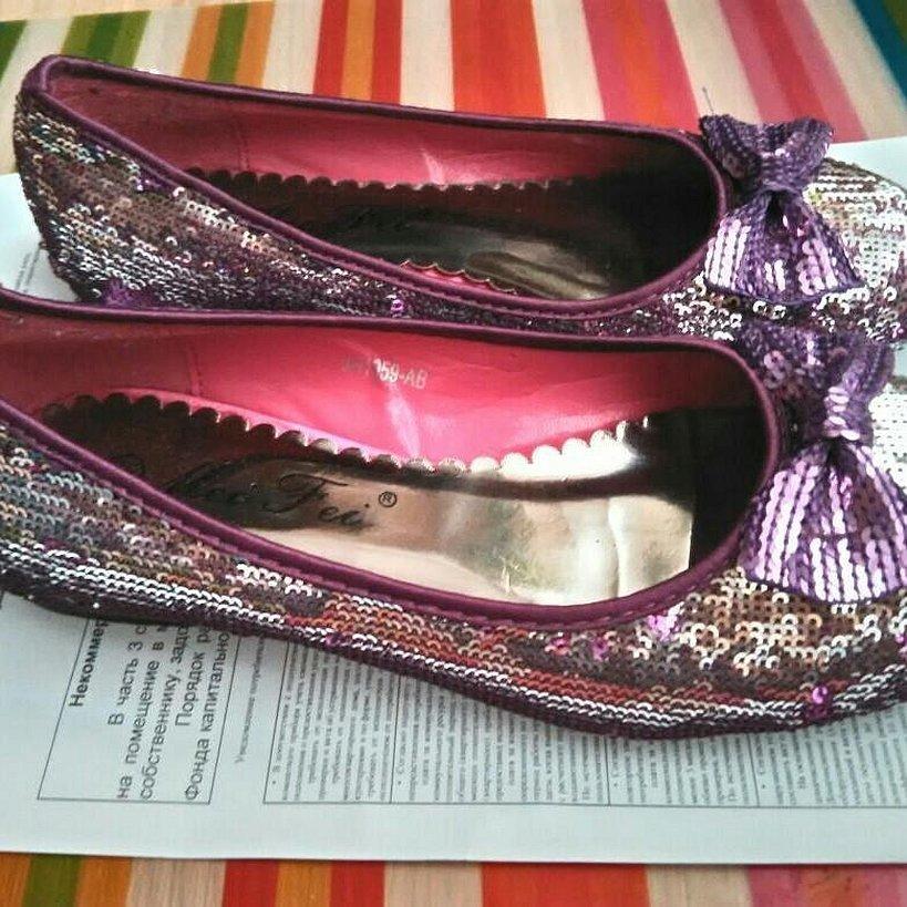 Женская обувь туфли
