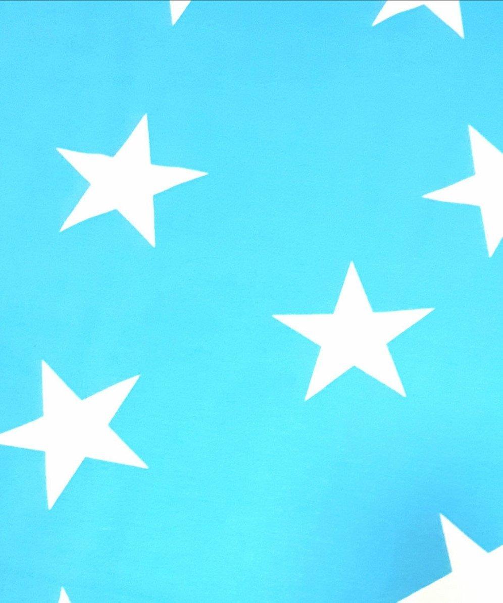 Синий флаг со звездой в центре