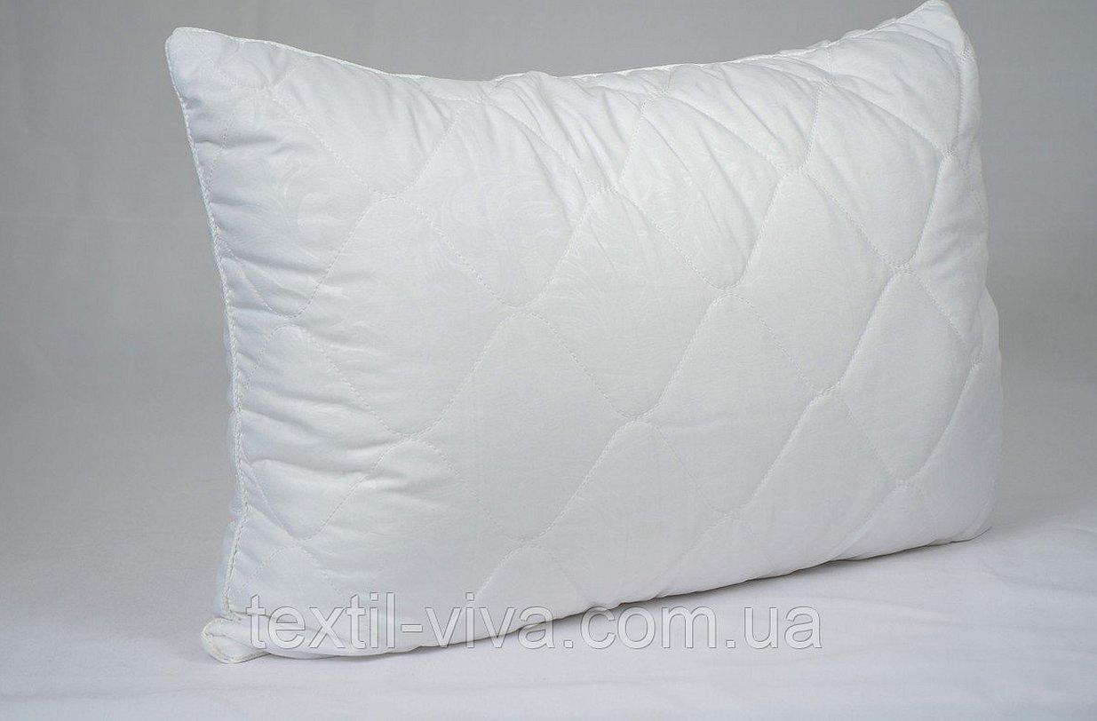 Пуховая стеганая подушка
