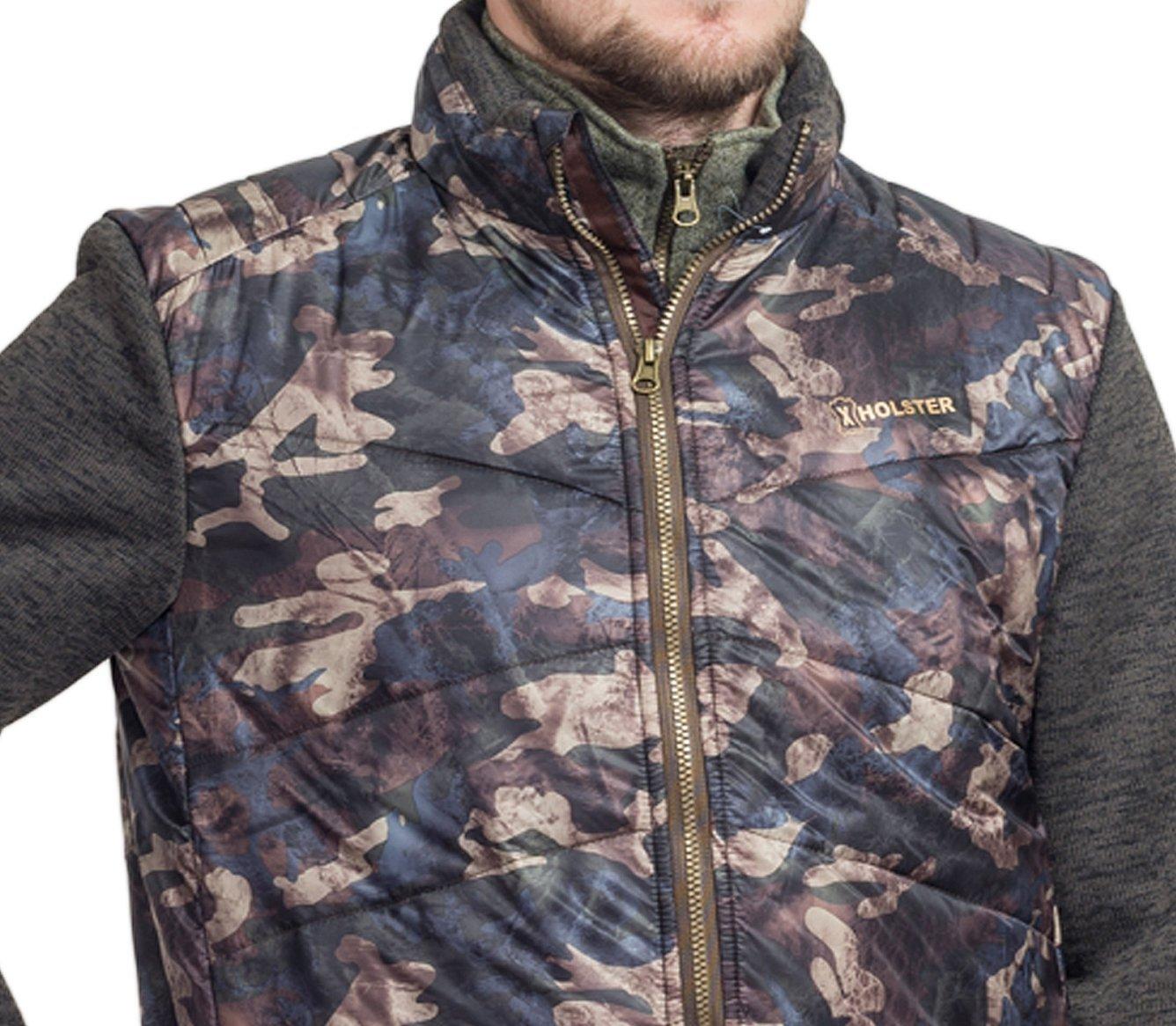Камуфляжная куртка на молнии для охоты