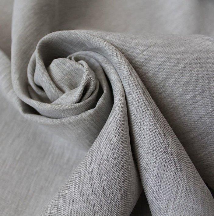 Льняные костюмные ткани