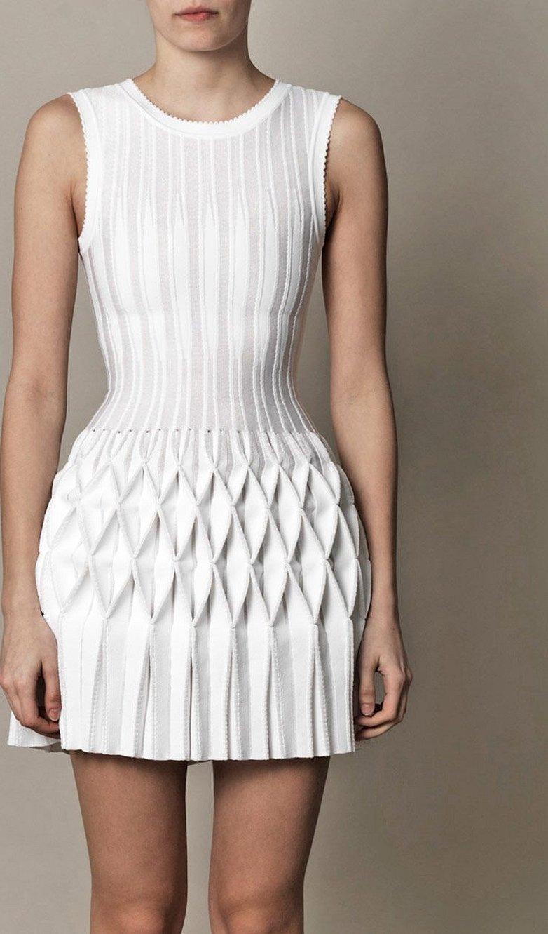 Azzedine alaia платья белое