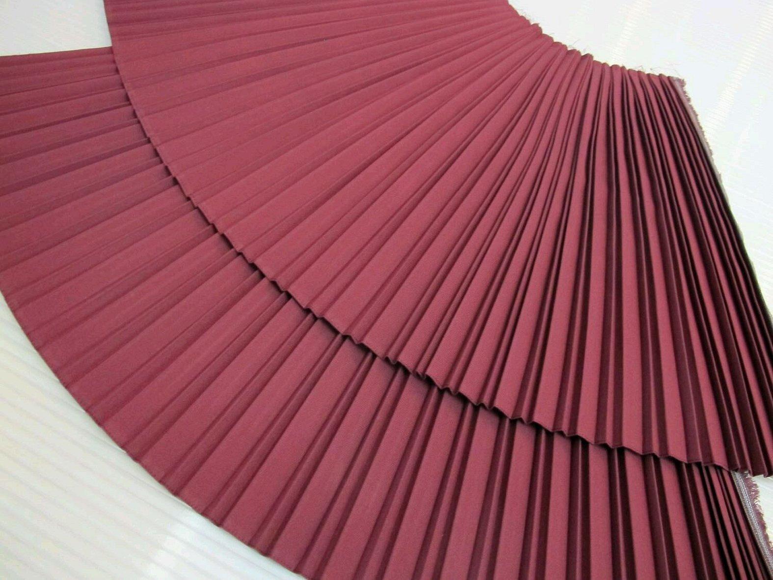 Плиссированная ткань