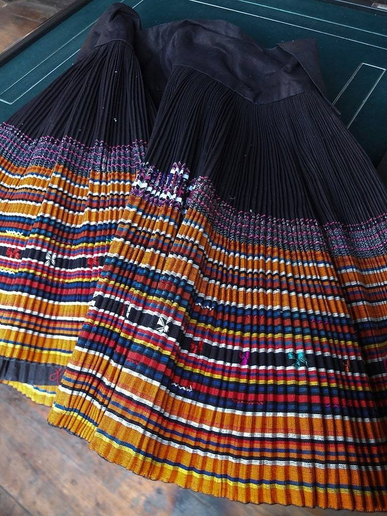 Вепское ткачество половики