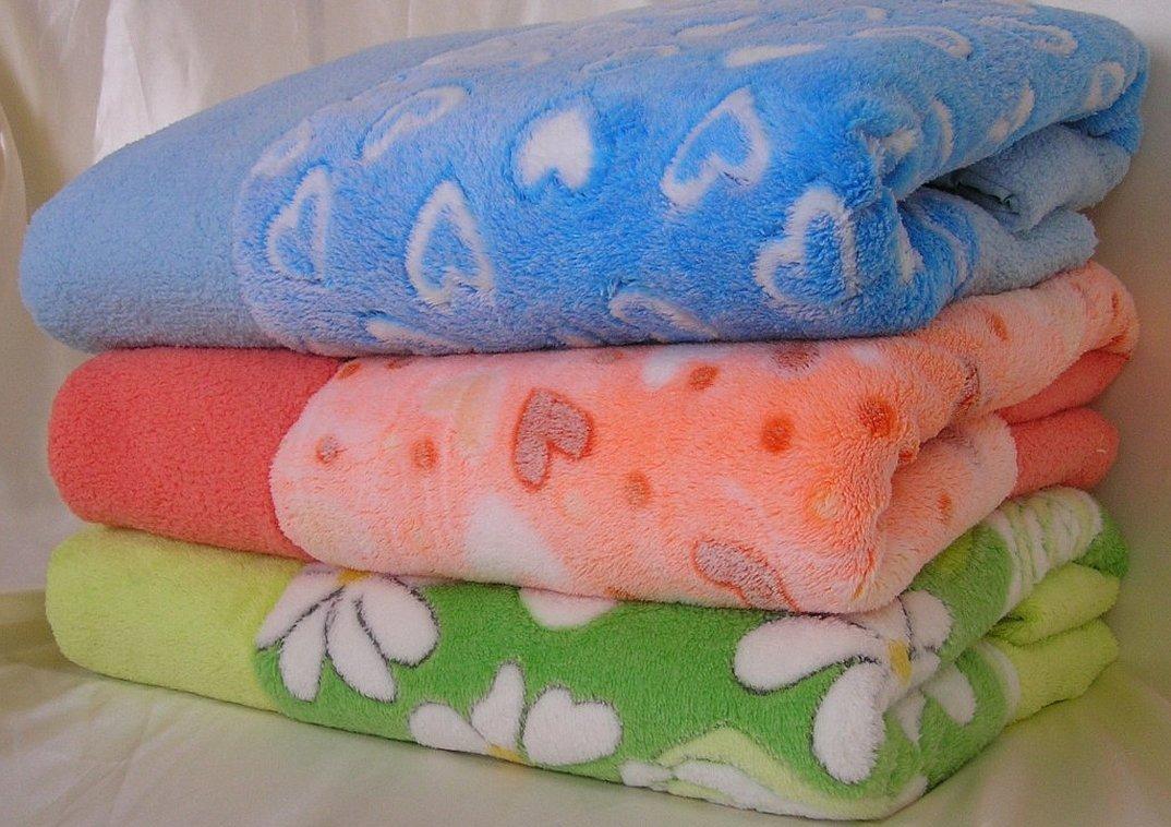 Детский одеяльце из велсофта