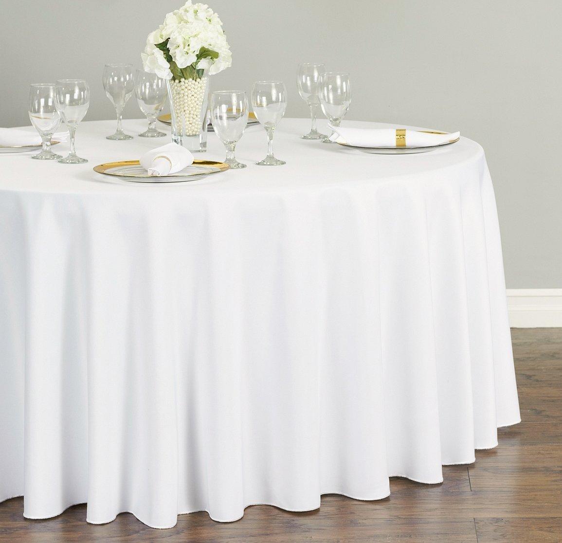 Скатерть на стол круглый для свадьбы