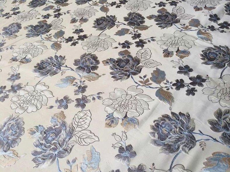 Мебельная ткань жаккард скарлет