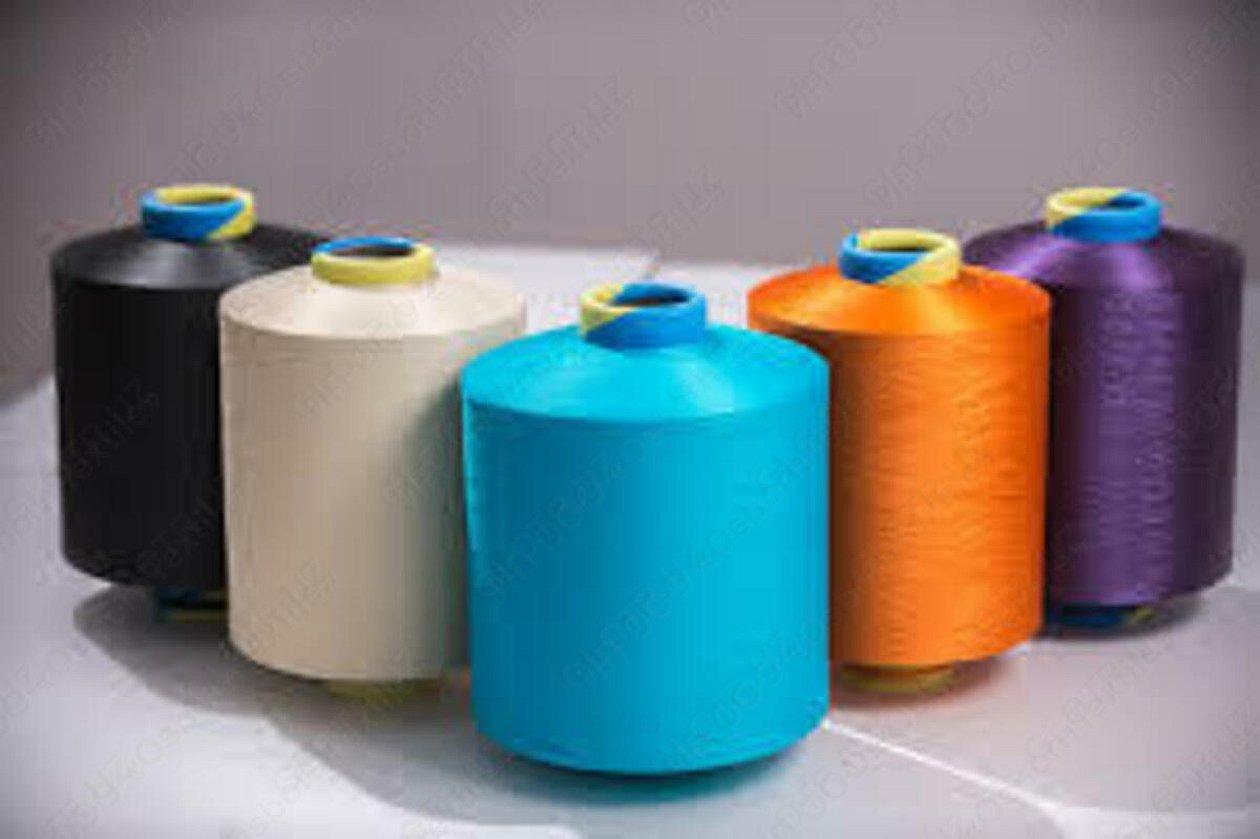Нитки для производства полиэстеровых тканей