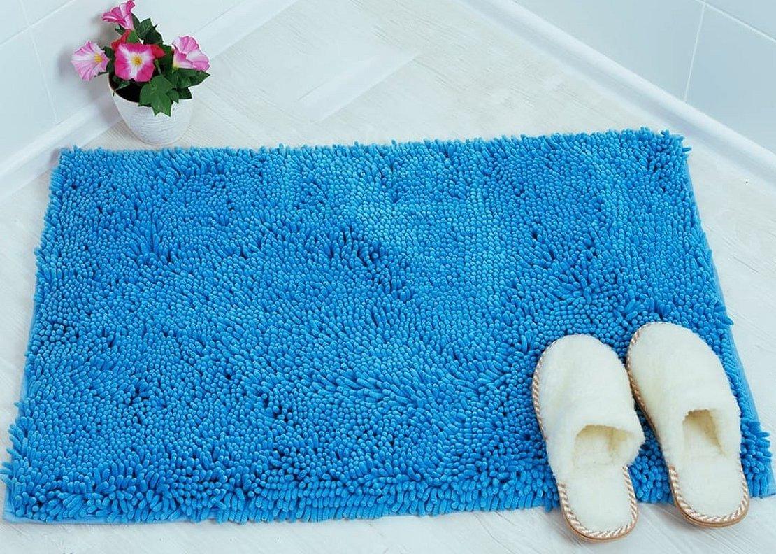 Коврики для ванной комнаты с ворсом