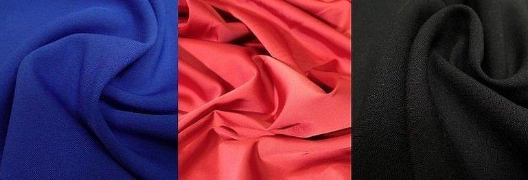 Лайкра ткань красный