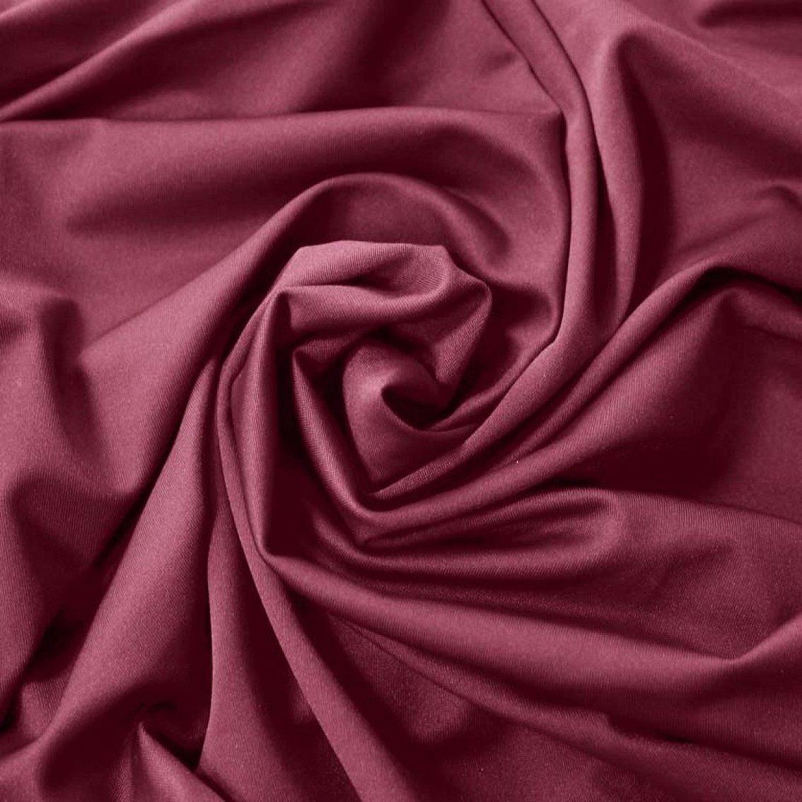 Розовый спандекс ткань