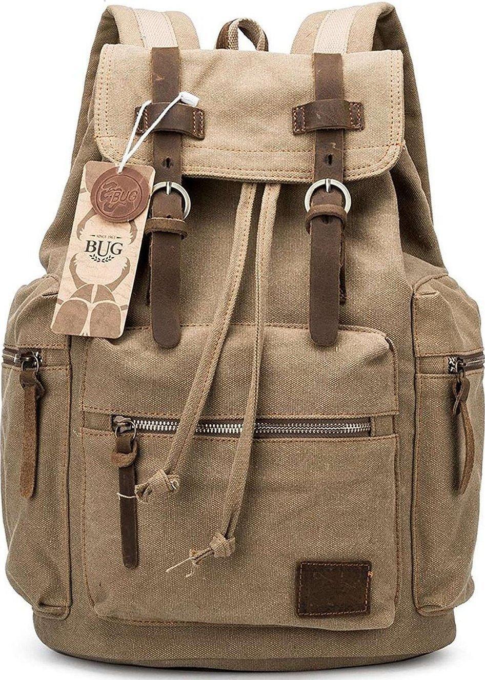 Augur новый модный мужской рюкзак винтажный холщовый рюкзак