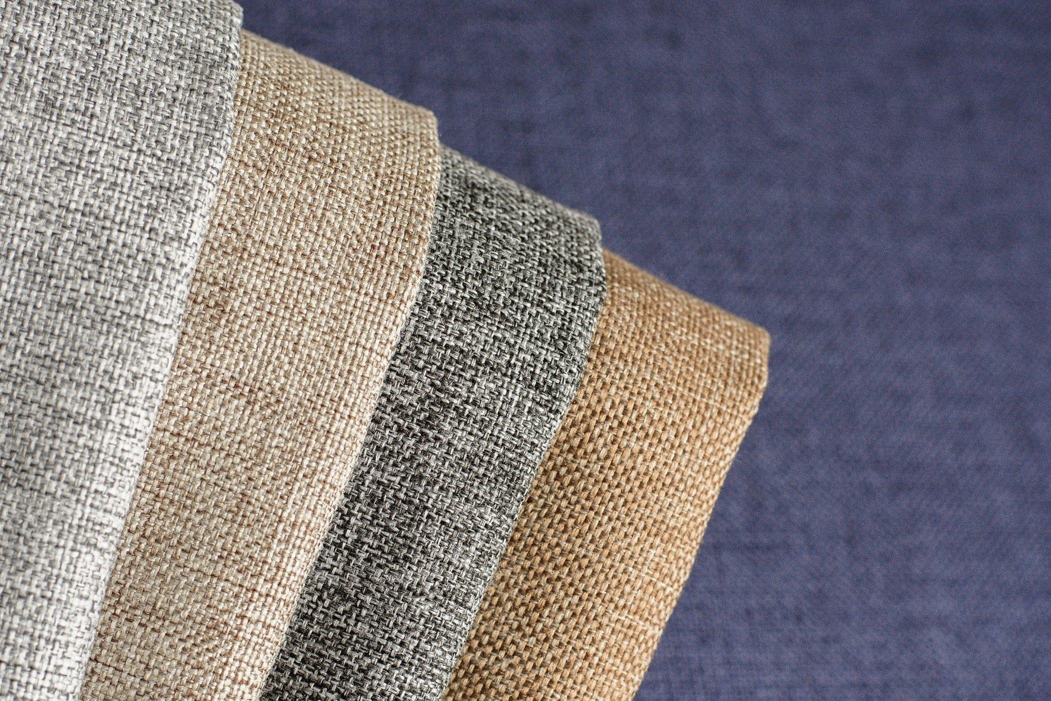 Мебельная ткань рогожка velvet