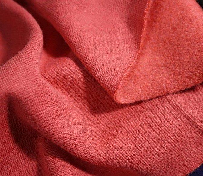 Ткань пальтовая кашемир фуксия