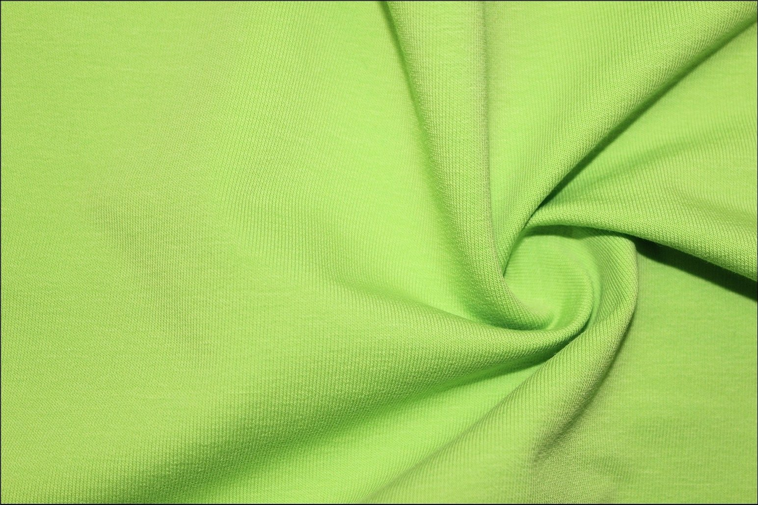 Ткань зеленый хлопок трикотаж