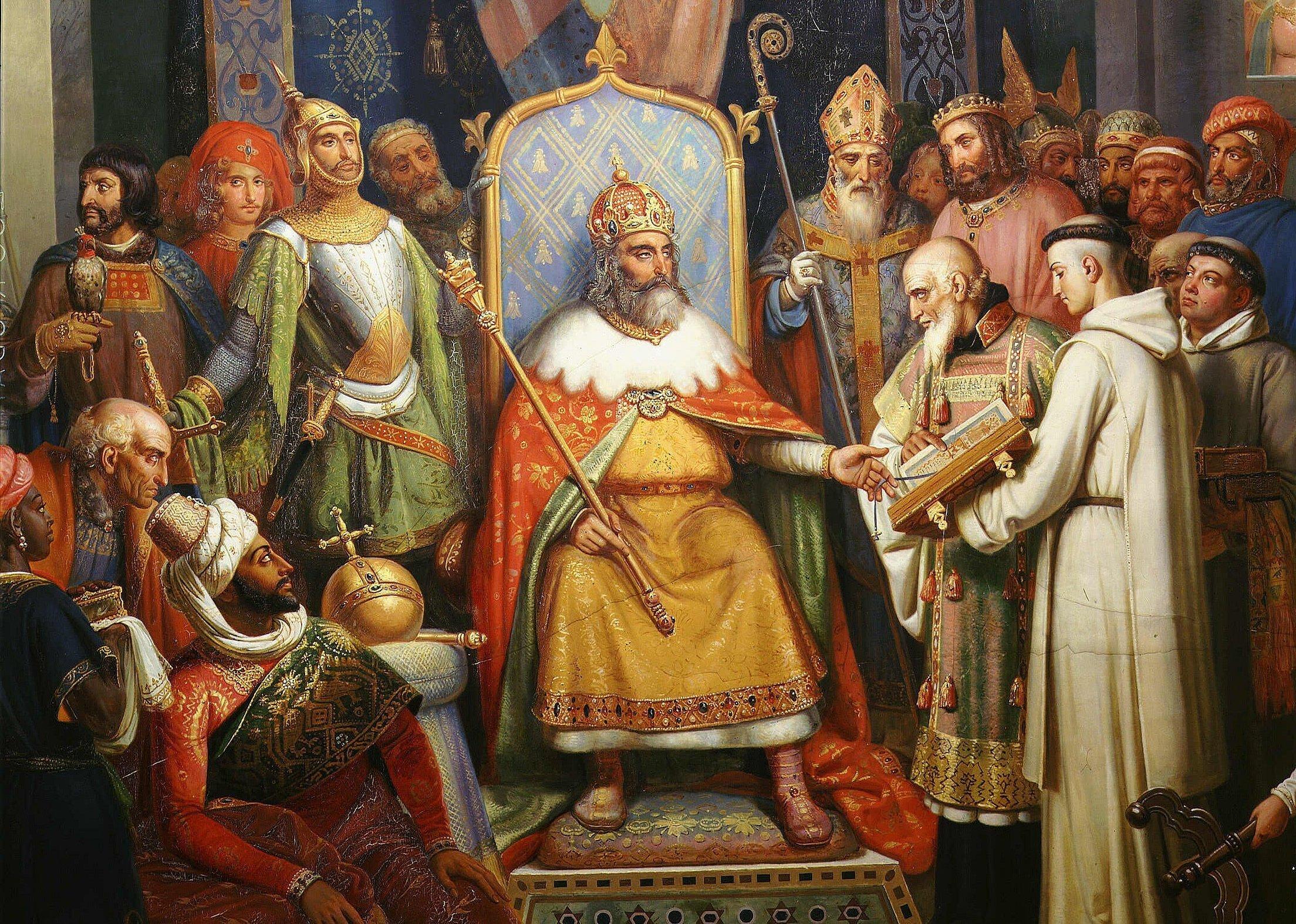 Картина коронование карла великого